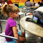 """My only parenting standard at airports is """"don't lose her""""."""